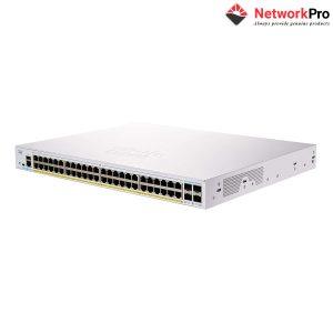 Business Cisco CBS250-48P-4X - NetworkPro