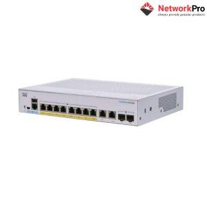 Business Cisco CBS250-8P-E-2G - NetworkPro