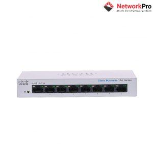 CBS110-8T-D-EU Cisco Business 110 Series 8 port gigabit Unmanaged Switch - NetworkPro