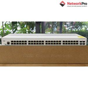 Cisco Business 350 Series CBS350-48XT-4X - Chính Hãng tại NetworkPro